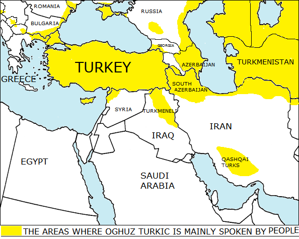 where turks live in middle east